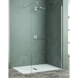 PAROI WALK-IN UP CITY L80 V.TR CHROME UCYH80-1K
