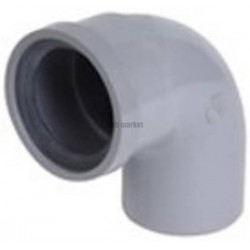 COUDE SIMPLE 87.30 A JOINT D100 GRIS UCT8J