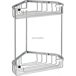 ETAGERE ANGLE FIL 20X27CM CHROME GEDY 24811300900