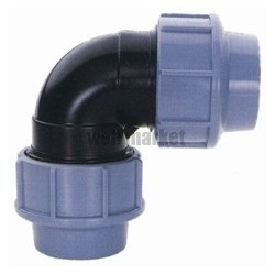 COUDE PP A COMPRESSION 90 FF 63X63