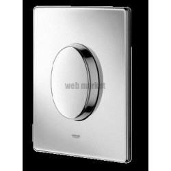 PLAQUE COMMANDE SKATE AIR CHROME GROHE F.38564000