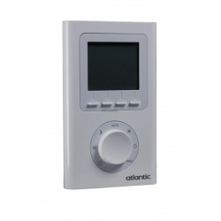 THERMOSTAT D'AMBIANCE RADIO PROGRAMMABLE RÉF 073271