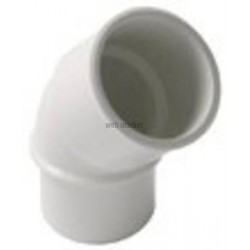 COUDE SIMPLE 45 MF D032 BLANC UCF4B