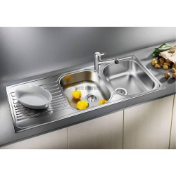 EVIER INOX TOILE 2C. BLANC O TIPO 8S 519534