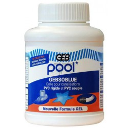 GEBSOBLUE COLLE PVC PISCINE 250ML-GEB 504501
