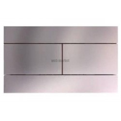 PLAQUE COMMANDE DOUBLE T. CHROME JD E4316-CP