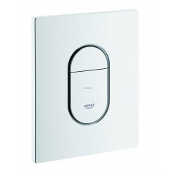 PLAQUE COMMANDE ARENA BLANC GROHE F. 38844SH0