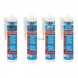 MASTIC POLYMERE TRANSP.-CART.280ML 892006