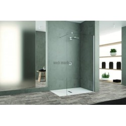 PAROI WALK-IN UPCITY L160 V.TR CHROME UCYH160-1K