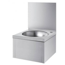 LAVE-MAINS SXS S/ROB. A/DOSSE. INOX 181320